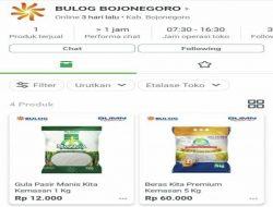 Perum Bulog Cabang Bojonegoro Rambah Penjualan Komoditi Via Online dengan Reward Poin