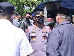 Panglima TNI dan Kapolri Tinjau Vaksinasi Massal di JIEXPO dan Pesantren Al-Hamidi