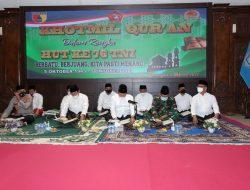 Lantunan Ayat Suci Al-Qur'an Menggema di Lamongan Dimomentum HUT ke-76 TNI